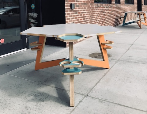 Shuffles Board Game Table