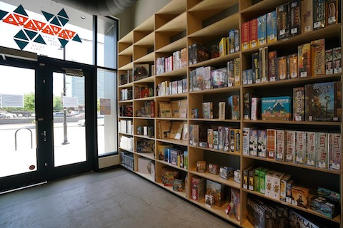 Shuffles Board Game Cafe - Retail Section